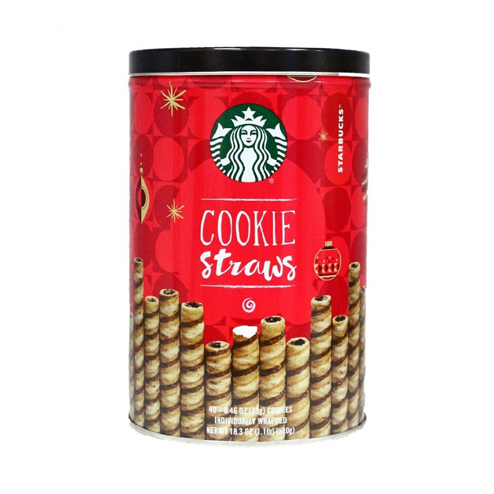 Starbucks 巧克力捲心餅乾(520g)