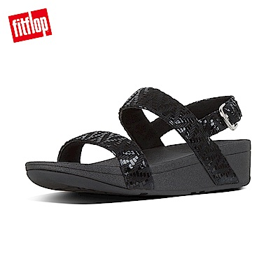 FitFlop LOTTIE  BACK-STRAP SANDALS-黑色