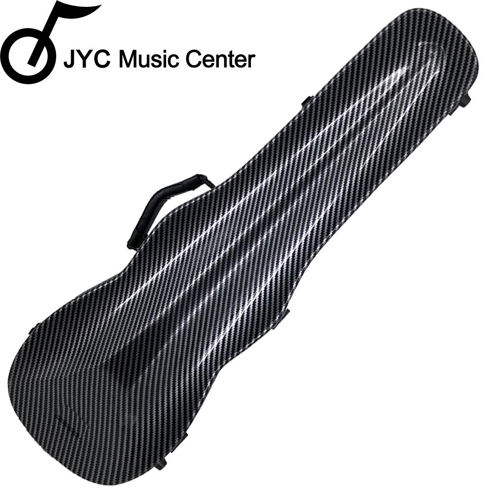 JYC 1002黑色碳纖大斜格紋小提琴三角硬盒~4/4(輕量級複合材料)僅重1.69kg