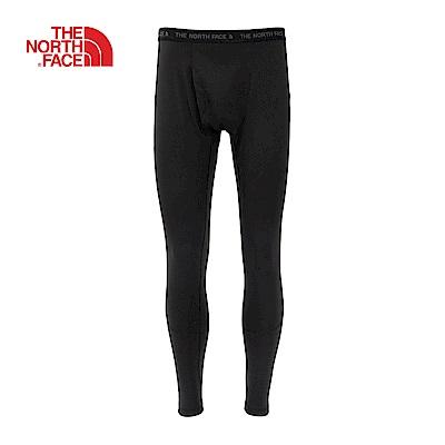 The North Face北面男款黑色輕便透氣運動發熱褲|CL74KX7