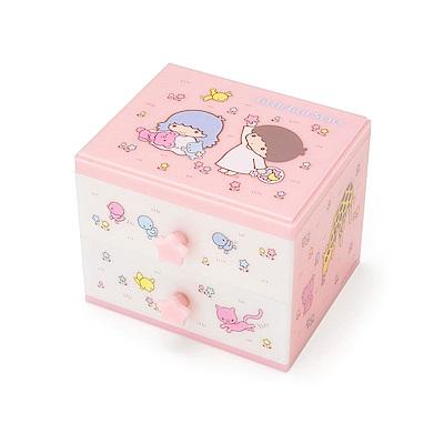 Sanrio雙星仙子樹脂桌上型抽屜式迷你置物櫃復古懷舊