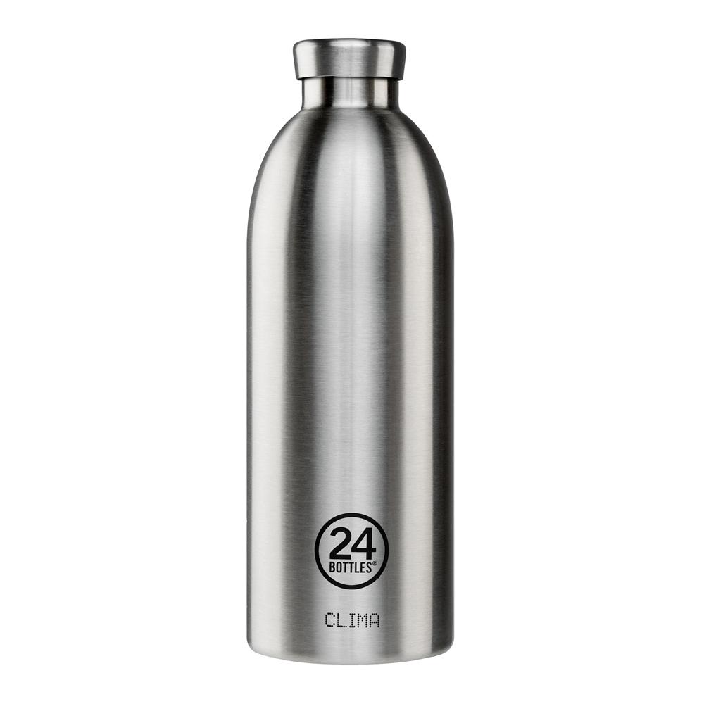 義大利 24Bottles不鏽鋼雙層保溫瓶850ml-不鏽鋼
