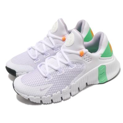 Nike 訓練鞋 Free Metcon 4 運動 女鞋 健身房 支撐 包覆 球鞋 穿搭 白 綠 淡紫 CZ0596135