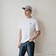 GIORDANO 男裝G-MOTION拼接織帶撞色短袖T恤 -01 標誌白 product thumbnail 1