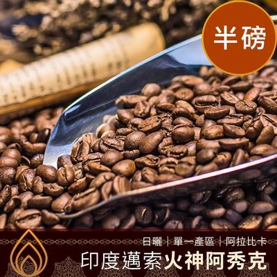 CoFeel 凱飛鮮烘豆印度邁索火神阿秀克日曬單一產區咖啡豆半磅