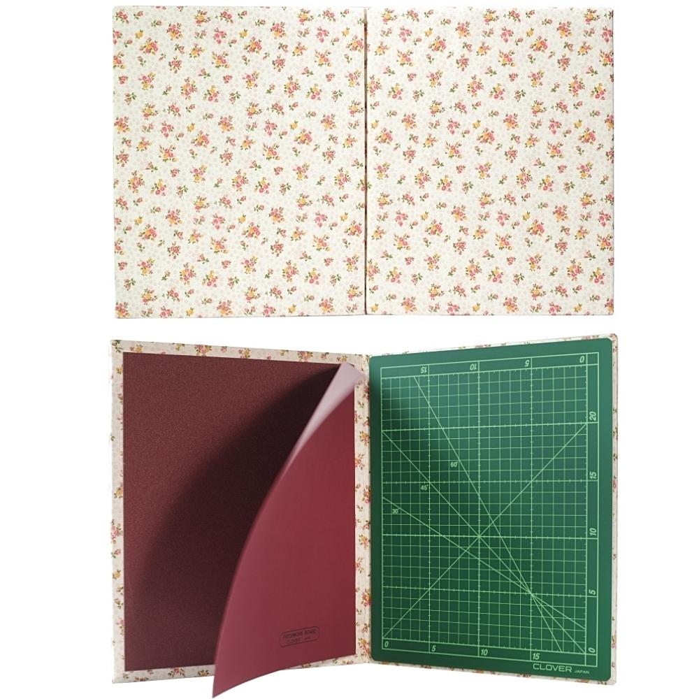 日本可樂牌Clover紋可攜式多功能拼布墊板57-872(可作燙衣板熨板/劃板止滑墊/裁切割墊)適洋裁縫紉