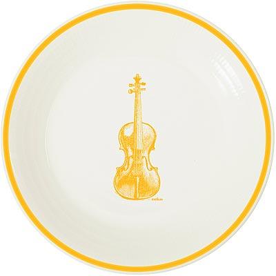 《EXCELSA》陶製平盤(提琴黃)