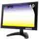 奇巧 10吋多功能IPS LED寬螢幕液晶顯示器(AV、BNC、VGA、HDMI、USB) product thumbnail 1