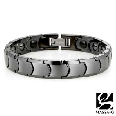 DECO X MASSA-G【黑色浪漫】精密陶瓷健康手鍊