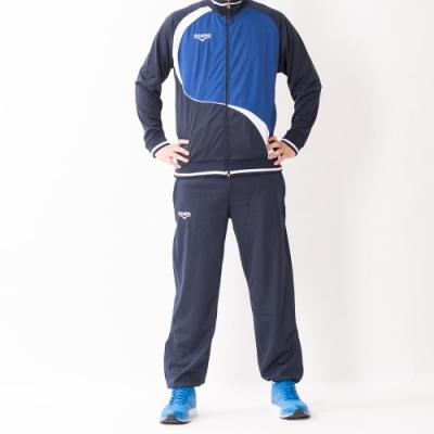 V.TEAM-男款針織外套-藍