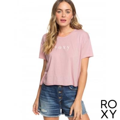 【ROXY】DONT LOOK BACK T恤 淺紫
