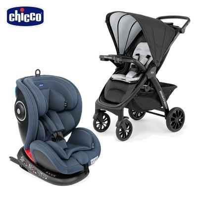 chicco-Seat 4 Fix Isofix安全汽座+Bravo極致完美手推車特仕機能air版