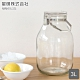 日本星硝 日本製醃漬/梅酒密封玻璃保存罐3L(密封 醃漬 日本製)(快) product thumbnail 1