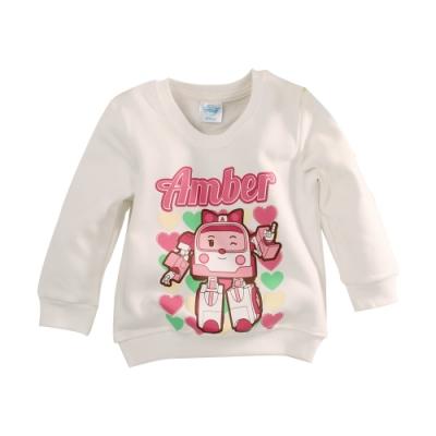女童 POLI安寶款刷毛長袖T恤 k61139 魔法Baby