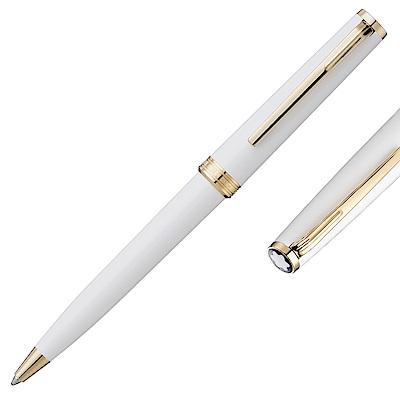 萬寶龍PIX鍍金夾原子筆-白金色