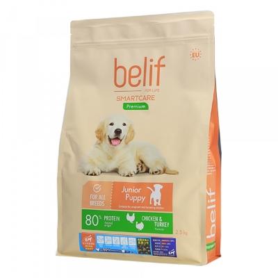 【2入組】belif比利夫成狗飼料-(幼犬成長/成犬)飼料 2.5kg 立陶宛製 (購買第二件贈送寵鮮食零食1包)