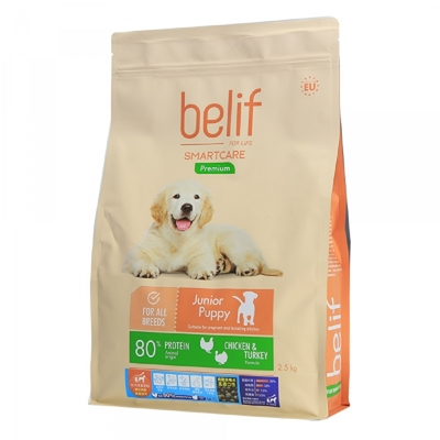 belif比利夫成狗飼料-(幼犬成長/成犬)飼料 18kg 立陶宛製 (購買第二件贈送寵鮮食零食1包)