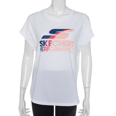 SKECHERS 女短袖衣 - P220W002-0019
