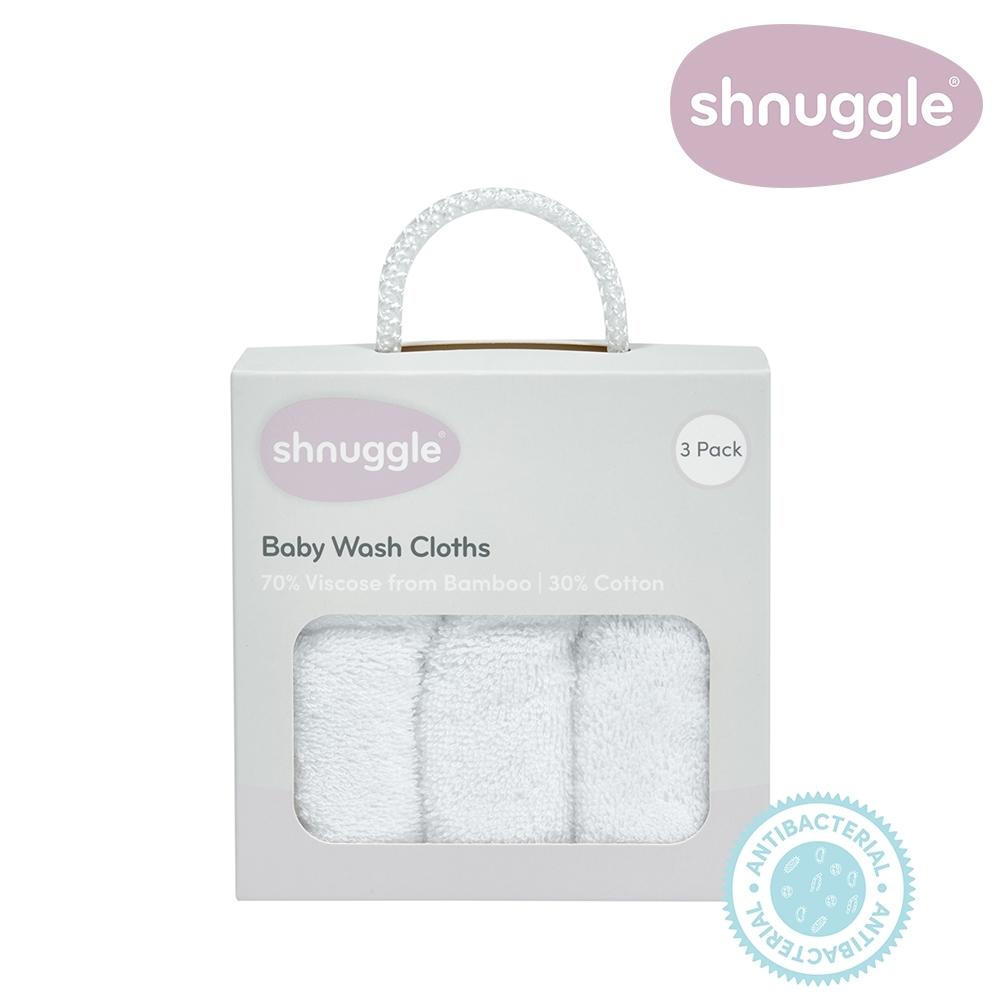 【英國Shnuggle】竹纖維小方巾(抗菌透氣吸水力強)