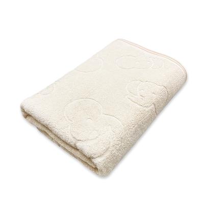 【les enphants 麗嬰房】經典大象有機棉浴巾