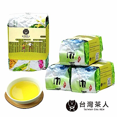 台灣茶人 頂級新栽四季春 4件組 1斤/4兩裝