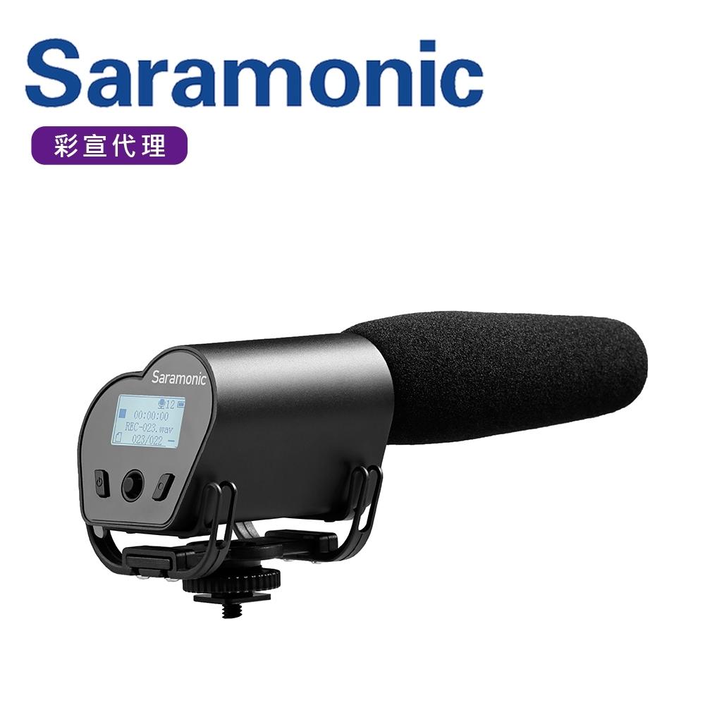 Saramonic楓笛 超心型指向性電容式麥克風 Vmic Recorder(彩宣公司貨)