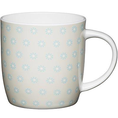 《KitchenCraft》骨瓷馬克杯(雛菊425ml)