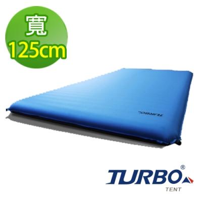 【Turbo Tent】Mat 125自動充氣泡綿睡墊 加大超厚10cm款