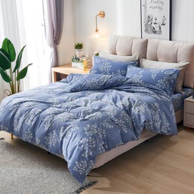 A-ONE 頂級天絲三件式-加大床包/枕套組-旅途之秋