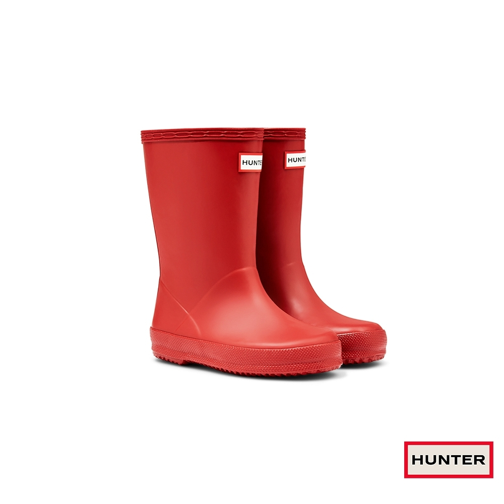 HUNTER - 童鞋 - Original小童經典霧面短靴 - 紅