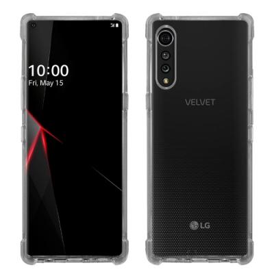 Metal-Slim LG VELVET 強化軍規防摔抗震手機殼