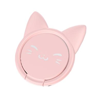 貓咪指環支架 360度可旋轉 指環支架 手機平板通用款指環支架