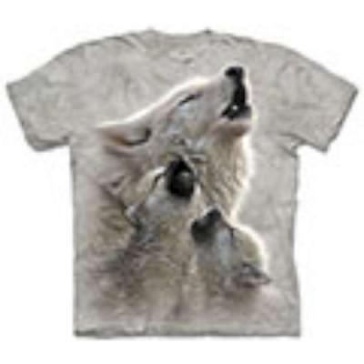 摩達客-自然純棉系列 狼族合唱 T恤