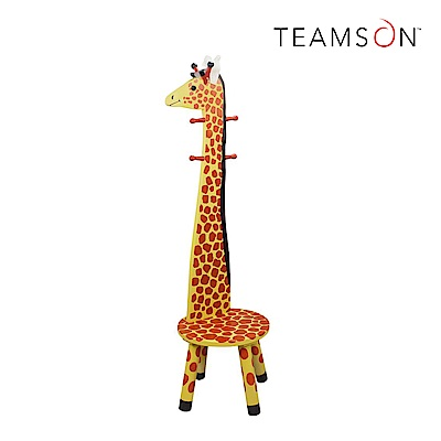 Teamson 動物樂園椅凳附掛衣架(2色)