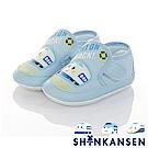 三麗鷗 新幹線童鞋 柔軟輕量寶寶學步鞋-水