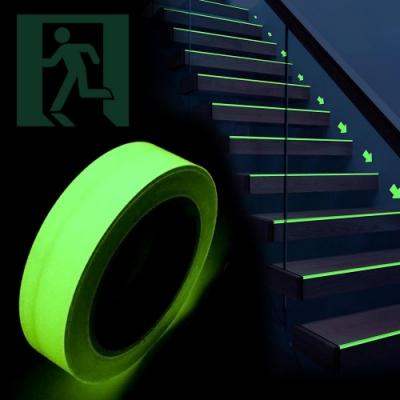 【Incare】自動蓄光高亮度防滑夜光膠帶4入組(磨砂款/平滑款)