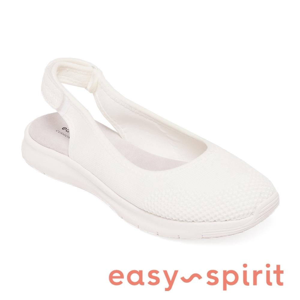 Easy Spirit-seGRACEE2 休閒舒適平底包頭涼鞋-白色