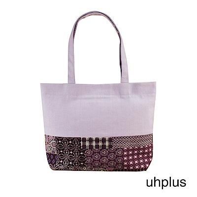 uhplus 和風輕托特-萬華鏡(紫)