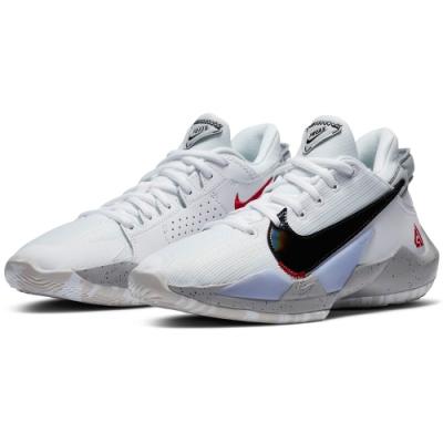 NIKE 籃球鞋 包覆 緩震 運動鞋 大童 女鞋 白 CN8574100 FREAK 2 GS