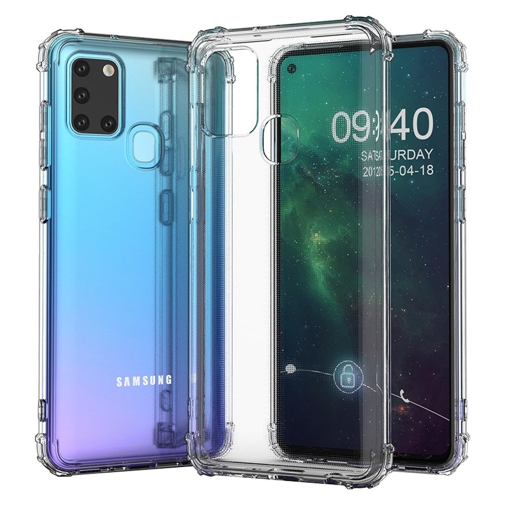 【Ayss】Samsung Galaxy A21S/6.5吋/2020手機殼/空壓殼/保護套/軍規級防摔保護/四角空壓吸震/氣囊防摔