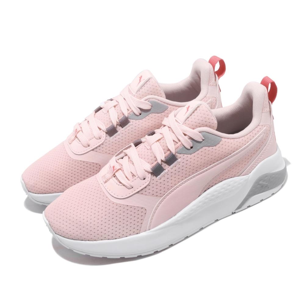 Puma 慢跑鞋 Anzarun FS 運動 女鞋 輕量 透氣 舒適 避震 球鞋穿搭 簡約 粉 白 37113004