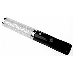 denicotea 珍珠母加工-捲煙及一般煙雙用煙嘴(6mm晶石濾心)-德國進口