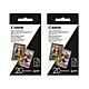 Canon ZP-2030 ZINK 2x3相片紙 (2入40張) product thumbnail 1