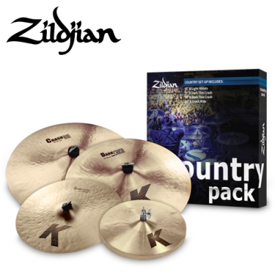 ZILDJIAN COUNTRY CYMBAL PACK 套鈸組 K0801C