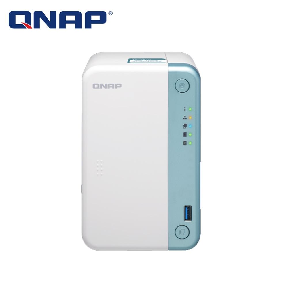 QNAP TS-251D-2G 網路儲存伺服器