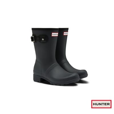 HUNTER - 女鞋-TOUR短靴 - 黑