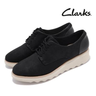 Clarks 休閒鞋 Sharon Crystal 真皮 女鞋
