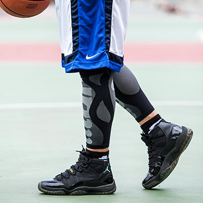 【titan】太肯壓力小腿套__黑(適合慢跑、馬拉松、自行車、球類運動)