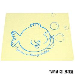YVONNE COLLECTION 泡泡魚小薄紗被(4x5呎)-嫩黃