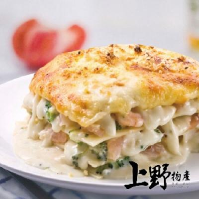 上野物產-重乳酪海鮮千層麵 x6盒(260g土10%/盒)